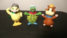 WONDER PETS figurines: Linny, Tuck, and Ming Bobble Heads