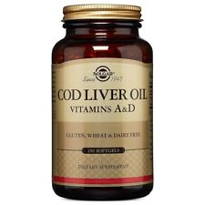 Cod Liver Oil Solgar 250 Softgel