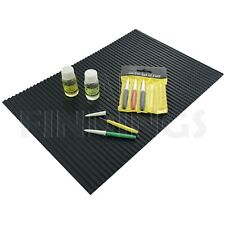 Large Watchmakers Rubber Anti Slip Work Bench Mat Matt Jewellers Tools