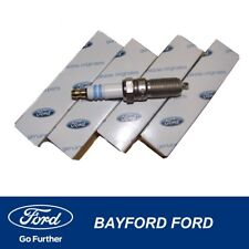 SPARK PLUGS (SET OF 4) SUITS FORD FIESTA WP WQ 2004-2008 MODEL NEW GENUINE FORD