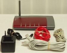 AVM FRITZBox SL WLAN ADSL 2+ Router 16000 16Mbps rot USB v. Händler mit Rechnung