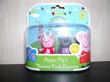 Peppa Theme 2 Pig Figura TWIN Park Pack-esclusivo Peppa e Danny Dog