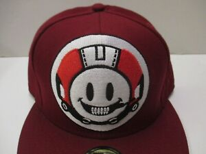 Billionaire Boys Club P. Williams- 11 Burg BBC Space Skull 59 Fifty hat- 7 1/4