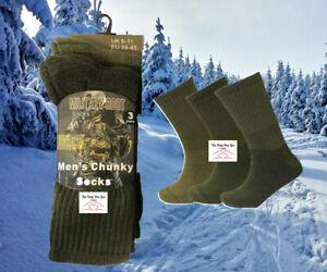 🔥 Mens Army Hiking Military Boot Work Socks High Performance Warm Sock 3,6,12pc