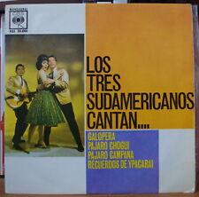 LOS TRES SUDAMERICANOS CANTAN... SPAIN PRESS EP CBS