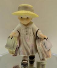 Kim Anderson PAAP FIGURINE Girl / Shopping Bags 375934 in BOX FREEusaSHIP
