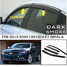 Window Visors 2014-2020 Chevy Impala Sedan Side Deflector Tape-on 19 18 17 16 15