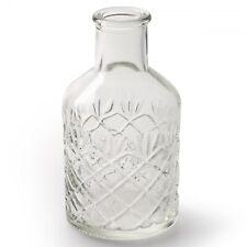 12 x Vasen Glas Vintage H 12 cm Glasvasen Dekoflaschen Tischvasen Blumenvasen