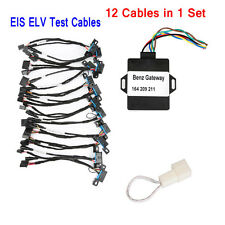 12 Cables EIS ELV Test Cables for Mercedes Works Together with VVDI MB BGA Tool