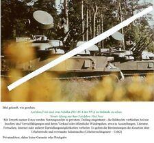 """5. FOTO NVA DDR ZSU 23-4 """"Schilka"""" Oldtimer"""