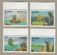 Guyana - 1992 - Columbus - Set Of 4 Stamps - MNH