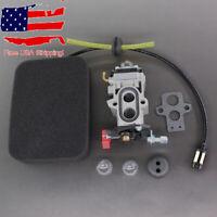 Carburetor For Walbro WYA-79 Husqvarna 350BT 150BT Backpack Blower Fuel Line Kit