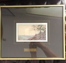 Alicia Leyva Watercolor Listed Mexican Artist Fine Art Water Color On Paper WOW