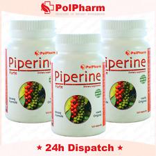 Original Piper nigrum piperyna Max piperina Forte Pérdida de Peso Quemadores de grasa 360 Cap