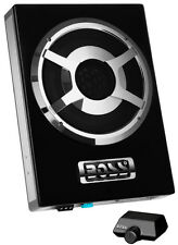 "New Boss BASS800 8"" 800 Watt Low Profile Amplified Subwoofer System with Remote"