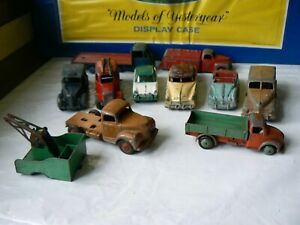 VINTAGE DINKY LOT X 10 VARIOUS MODELS IDEAL FOR SPARES/REPAIRS