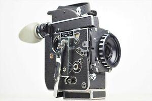 """Rare NMint"" BOLEX H16 SBM Body16mm Movie Film Camera Form Japan 836"