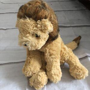 "GUND Cozys Lion Plush Stuffed Animal 10"" Flawed"