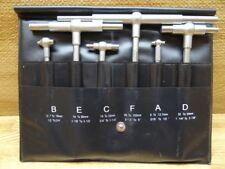 "General Tools 6 Piece Telescoping Gage Set, S98-6, Telescopic Bore, 5/16""-6"""