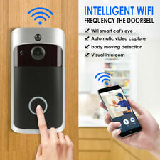 Wireless Smart WiFi DoorBell IR Video Ring Camera Intercom Home Security