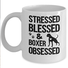 Awesome Boxer Mug - Boxer Obsessed Coffee & Teacup - Great Dog Lover Gift