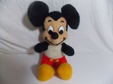 Vintage MICKEY MOUSE Walt Disney Characters Stuffed Animal Plush 14""