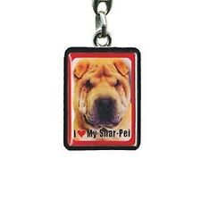 Shar Pei Metal Keyring, House Keys, Car Keys, Gifts for Dog Owners PEK070