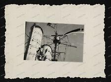 Foto-Schlachtschiff-Kreuzer-Schiff-Funk-Mast-Technik-Marine-Wehrmacht-2.WK