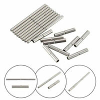 20Pcs 18mm-25mm Tube and Pins For Watch Bracelet Band Strap Stainless Steel Tool