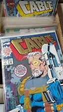 from X-men Comic Lot Cable 1-26 28 31-41 43-71 74 75 77 nm bagged