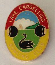 Lake Cargelligo Bowling Club Badge Pin Black Swan Rare Vintage (K3)