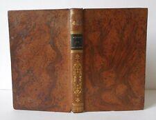 HISTOIRE DE LA PHILOSOPHIE, M. L' ABBE E. BARBE, RELIURE ROMANTIQUE, PARIS, 1846