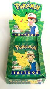 1x Pokemon MERLIN Tattoos Topps Series First Edition 1999 - Vintage - Nintendo