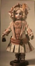 "17"" ANTIQUE  FRENCH BEBE  BRU JNE 8 JUMEAU  DOLL DRESS  UNDERWEAR HAT PATTERN"