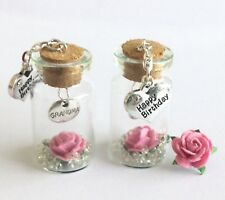 GRANDMA.  LITTLE KEEPSAKES. HAPPY BIRTHDAY GIFT.   A  BEAUTIFUL MINI  4cm BOTTLE