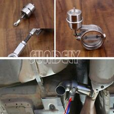 Car 2.5'' Exhaust Control Valve Vacuum Actuator Closer Style Stainless Steel