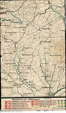 Schweinfurt Maßbach Oerlenbach 1910 orig. W-Karte Poppenhausen Niederwerrn Zell