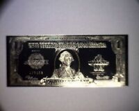 Beautiful Silver Coated $1 Commemorative 1923 One Dollar Bill