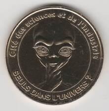 -- 2006 COIN TOKEN JETON MONNAIE DE PARIS -75 019 SEULS DANS L'UNIVERS ? E.T.