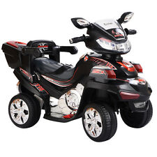 4 Wheel Kids Ride On Motorcycle 6V Battery Powered RC Electric Toy Power Bicycle
