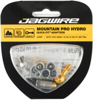 Jagwire Mountain Pro Disc Brake Hose Quick-Fit Adaptor Hope Banjo Mini Trial Mon