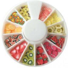 Tranches mini canes - Fruits - FIMO