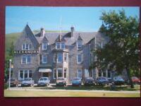 POSTCARD INVERNESS-SHIRE FORT WILLIAM ALEXANDRA HOTEL -