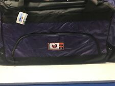 NHL LICENSED NEW YORK ISLANDERS EQUIPMENT HOCKEY BAG W/SHOULDER STRAP