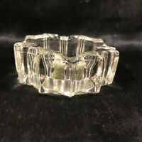 Vintage Grandfather Mountain NC Souvenir Glass Ashtray