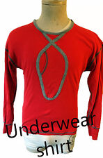 V.M. 18 vtg underwear shirt large condom pocket 1990s gay stripper bdsm muscle
