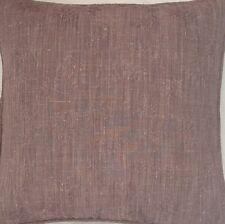 A 16 Inch cushion cover in Laura Ashley Melbury Aubergine fabric