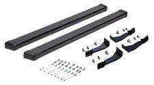 Fit 2006-2011 Hummer H3 Running Boards Side Steps Nerf Bar Black Aluminum