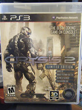 Crysis 2: Limited Edition (Sony Playstation 3, 2011) - Complete!!!!!