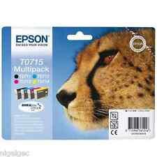 Epson Set 4 T0715 SX410 SX415 SX510W SX515W SX600 Original Véritable